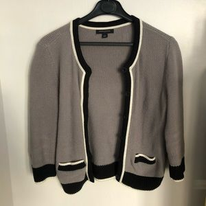 Banana Republic knitted cropped sweater